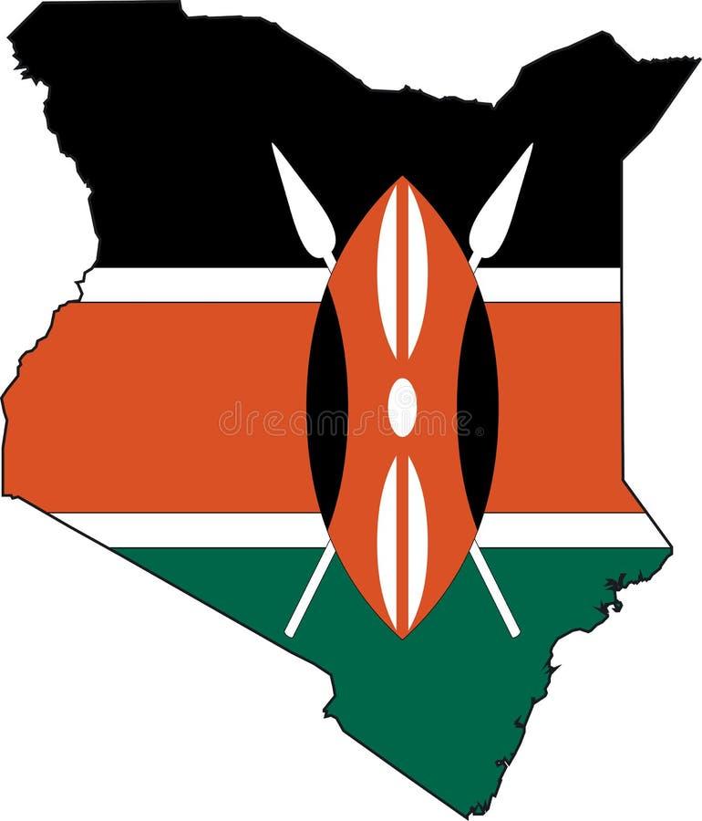 Programma Kenia illustrazione vettoriale