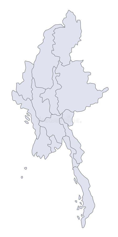 Programma Myanmar royalty illustrazione gratis