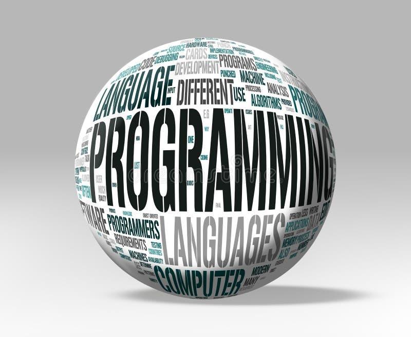 Programmation illustration libre de droits