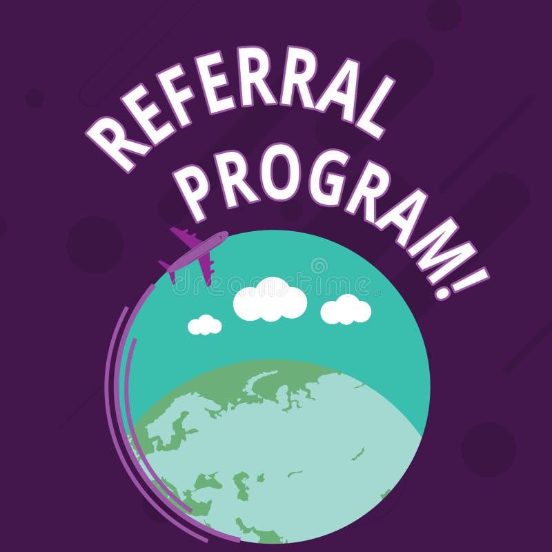 Programme de r?f?rence des textes d'?criture de Word Concept d'affaires pour la méthode interne de recrutement utilisée en l'avio illustration libre de droits