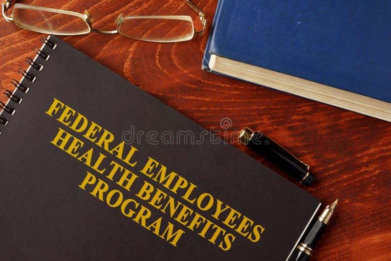 Programme social fédéral de santé du personnel FEHB images libres de droits