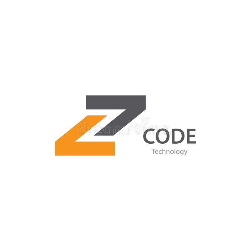 Programmeercodetechnologie stock illustratie
