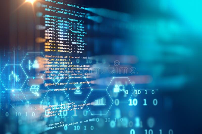 Programmera abstrakt teknologibakgrund för kod av programvarubärare