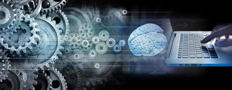 ProgrammerareComputer Technology Business innovation arkivfoto