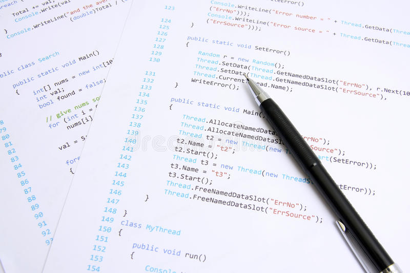 programmering arkivbilder