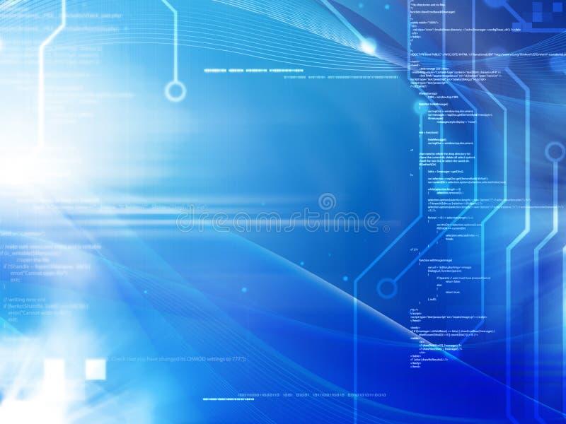 Programmering en technologie royalty-vrije stock afbeelding