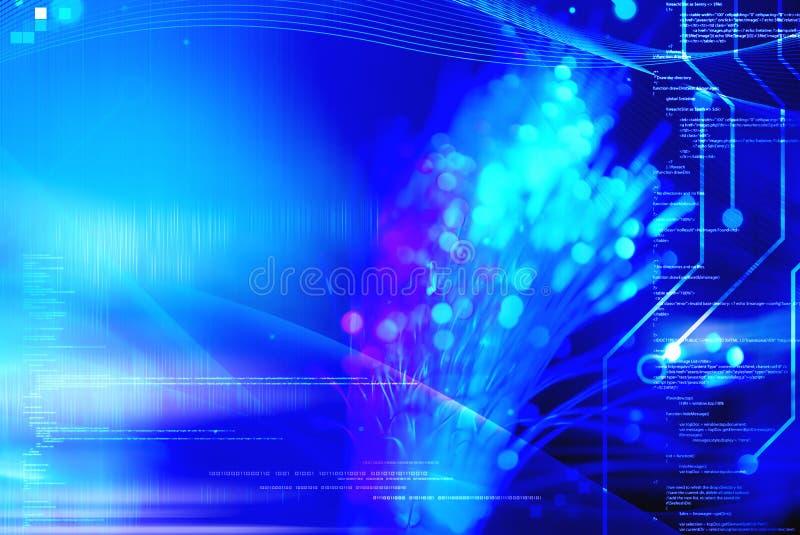 Programmering en technologie stock afbeeldingen
