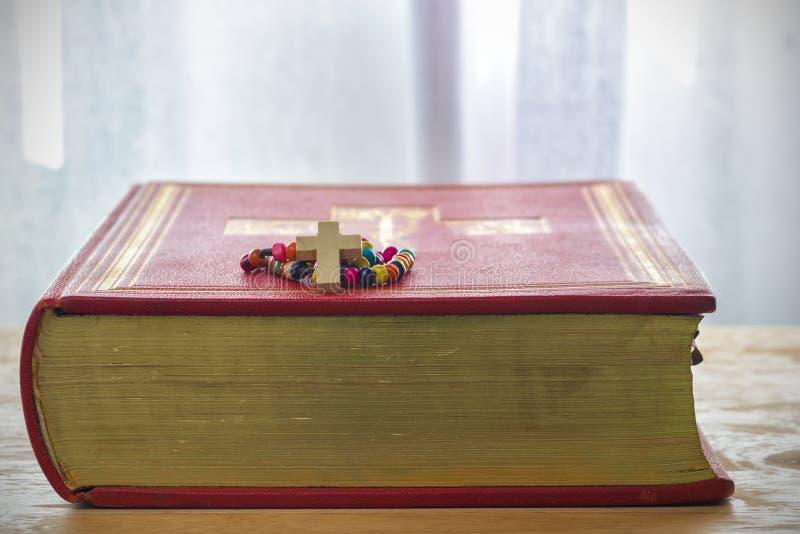 Programmes catholiques de rosaire image libre de droits