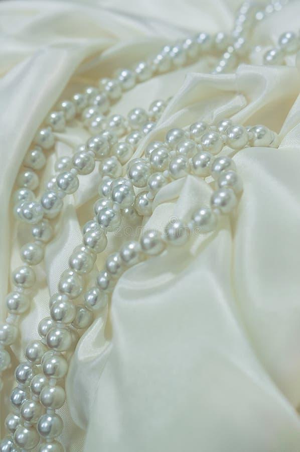 Programmes des perles artificielles photographie stock