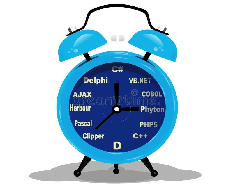 Programmeur-temps photographie stock