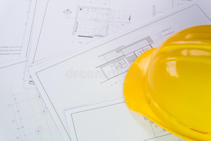 Programmi architettonici e strumenti per il ritocco della casa fotografia stock libera da diritti