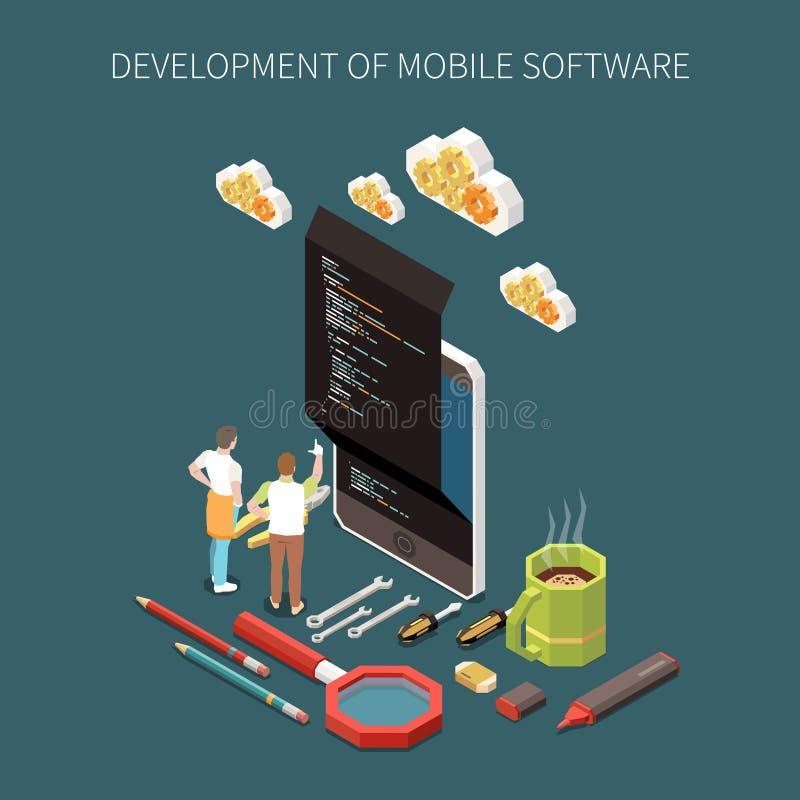 Programming Development Concept vector illustration