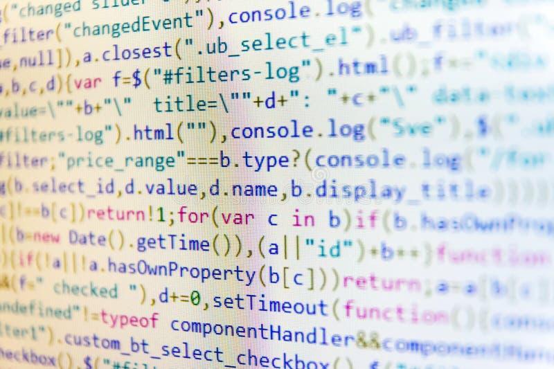 Programować zapobiegać kilofy w Internetowej ochronie PHP dane źródła kartoteka Technologia cyfrowa na pokazie zdjęcie stock