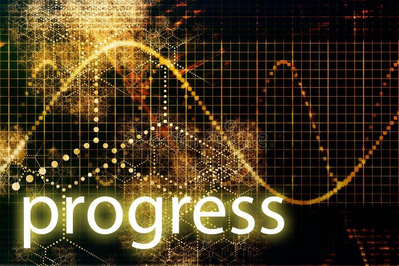 progress stock illustrationer