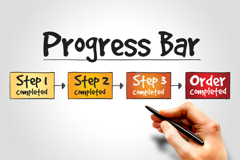 Progress Bar royalty free stock images