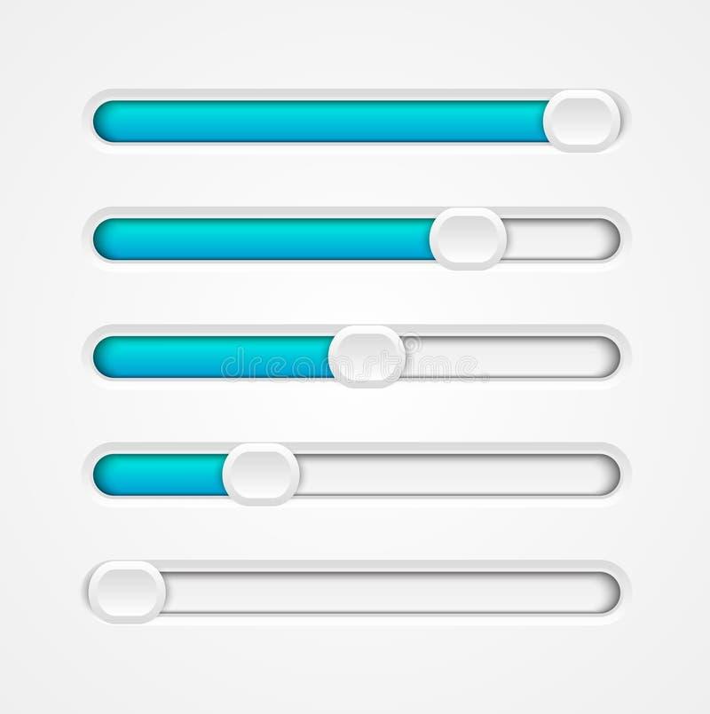 Progress bar vector illustration