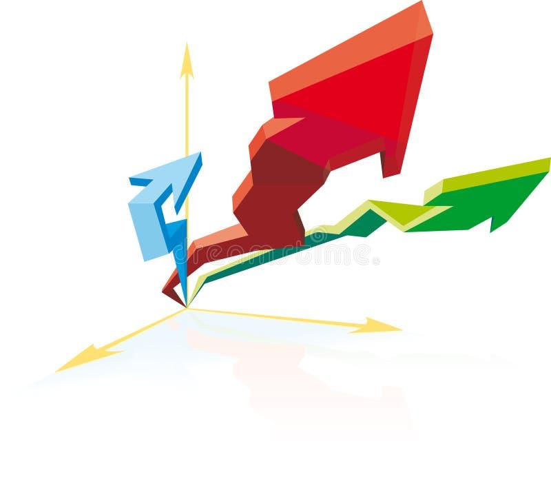 Download Progress Business chart stock vector. Illustration of achievement - 17264058