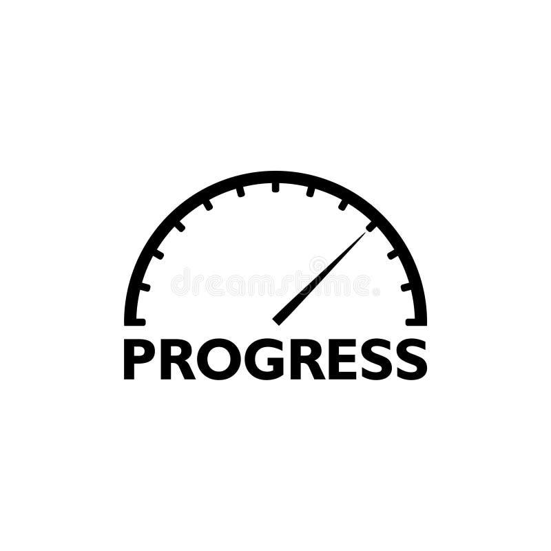 Progress Forward Momentum Measure Advancing royalty free stock image