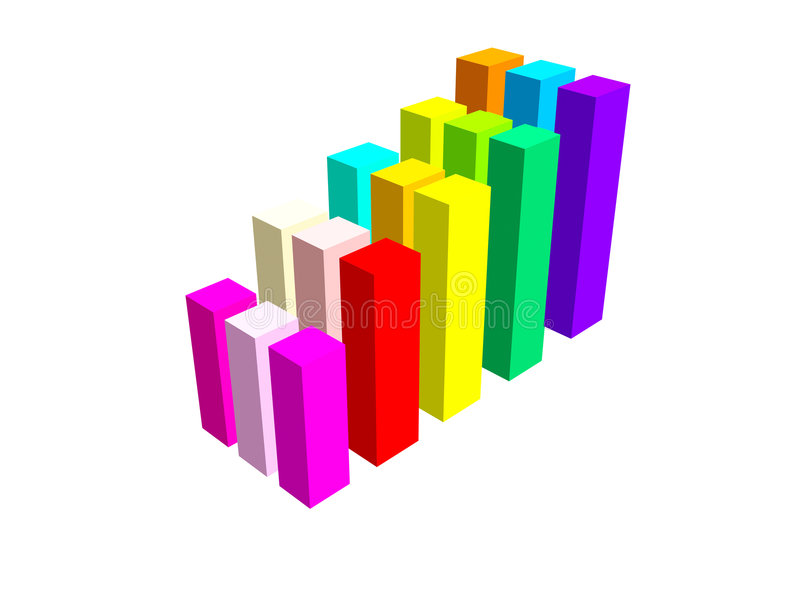 Download Progress Graphs Stock Image - Image: 1439101