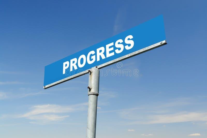 Progress signpost