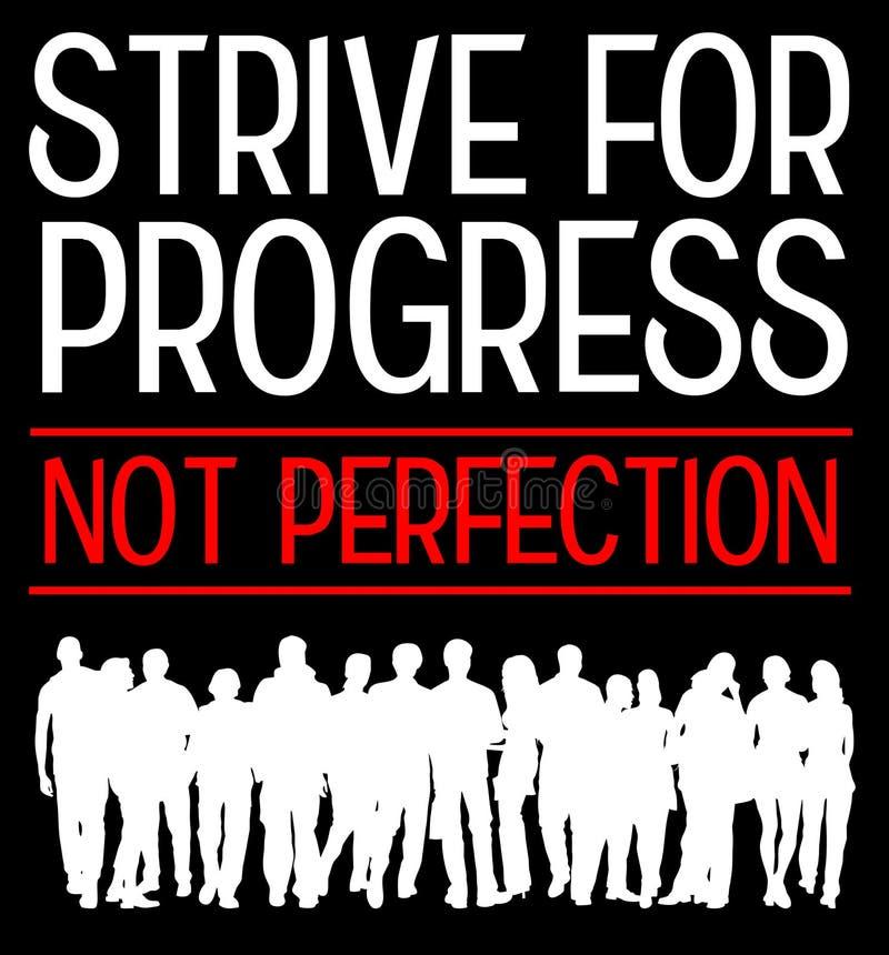 Progress stock illustration