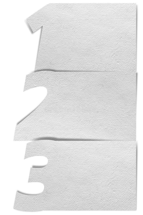 Progressbakgrund för vitt papper arkivfoto