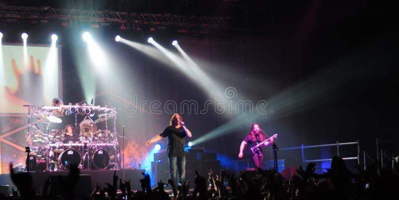 Progressive rock band - Dream Theater stock photo