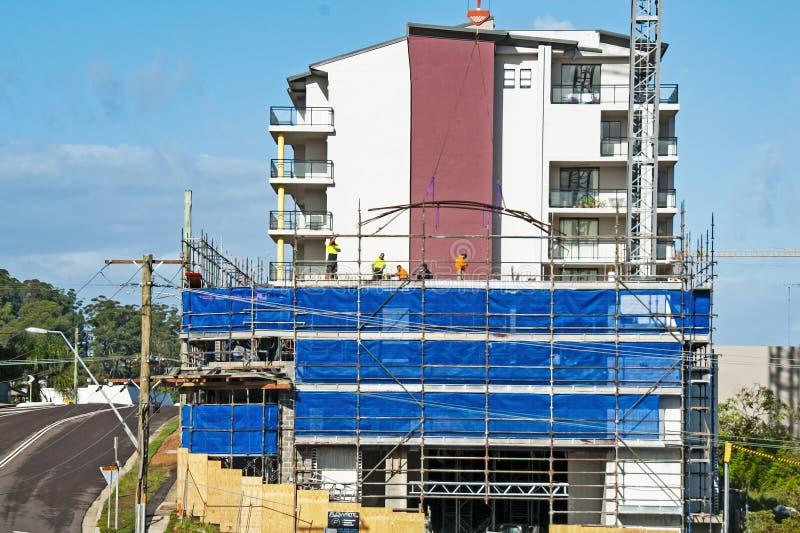 Progresso de construção 88 Em St Gosford de 47 Beane Em junho de 2018 foto de stock royalty free