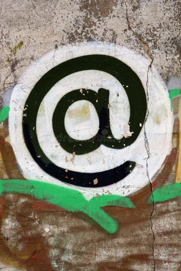 Progresso di afna del email fotografia stock libera da diritti