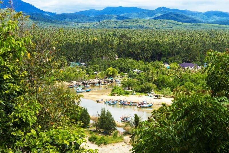 Proibição Krut da praia e natural fotos de stock