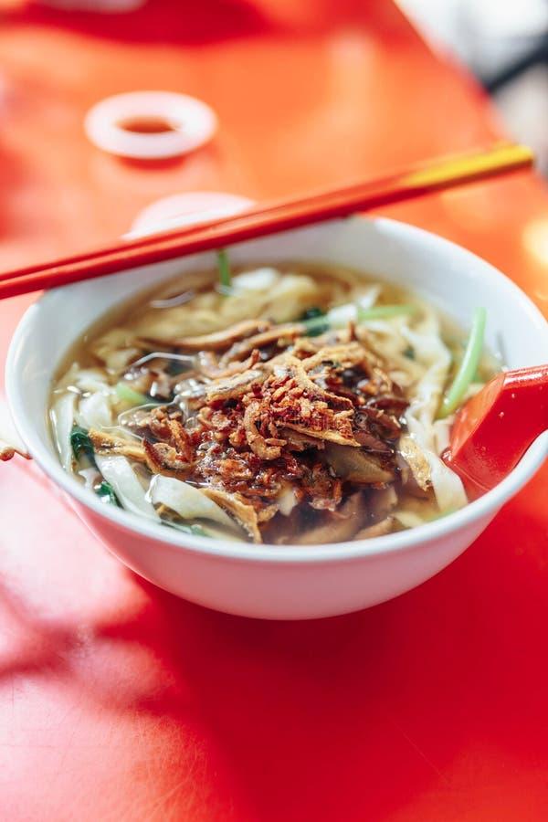 A proibição Mian é um prato popular do macarronete imagens de stock royalty free