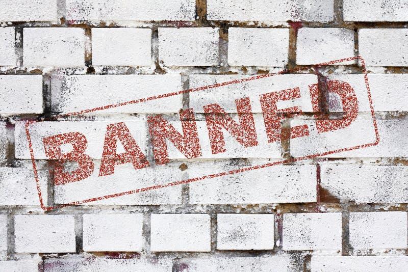 Proibido Fotos de Stock
