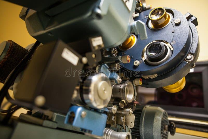 Proiettore di film d'annata immagine stock