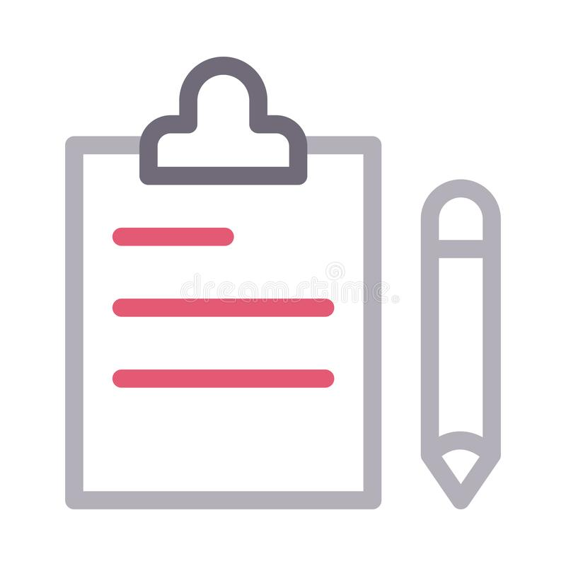 Project colour line vector  icon royalty free illustration
