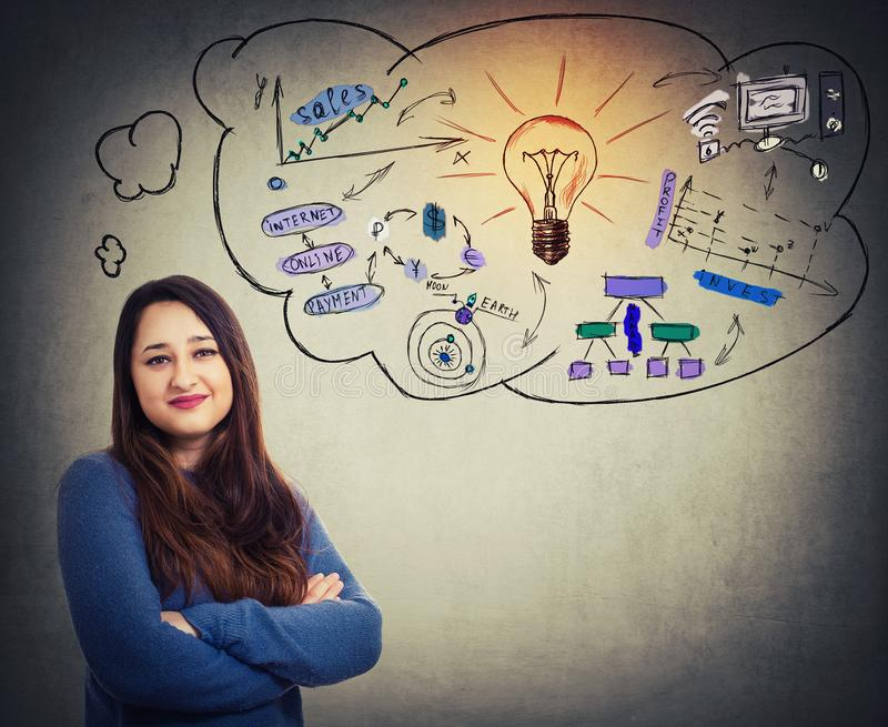 Project ideas stock image