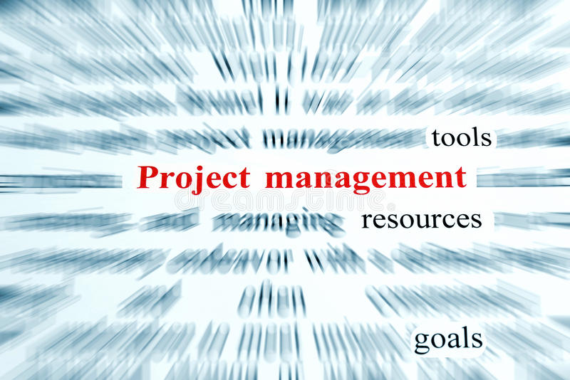Project Management stock photography