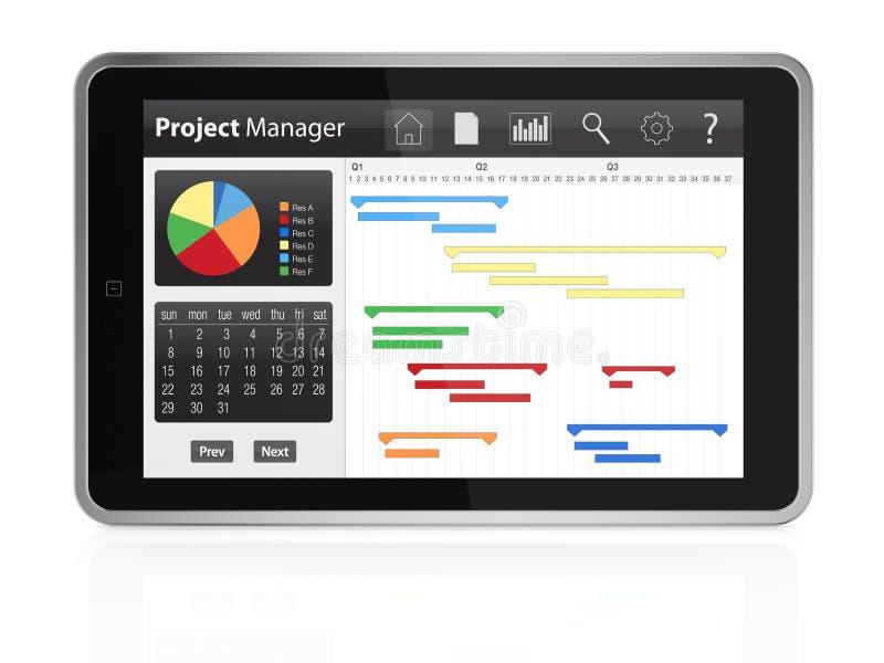Download Project management stock illustration. Illustration of gantt - 29569446
