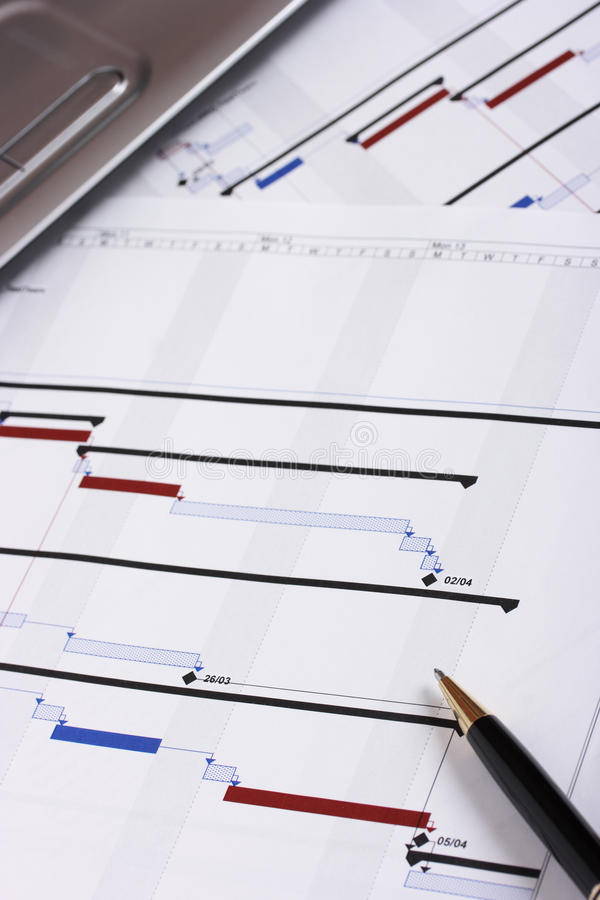 Project Planning Stock Photography