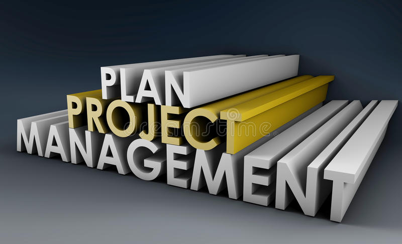 Project Planning royalty free illustration