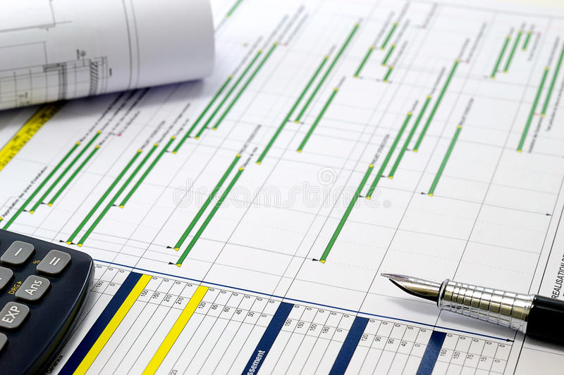 Project planning stock images