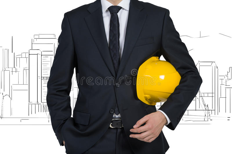 Project skyscraper stock photography