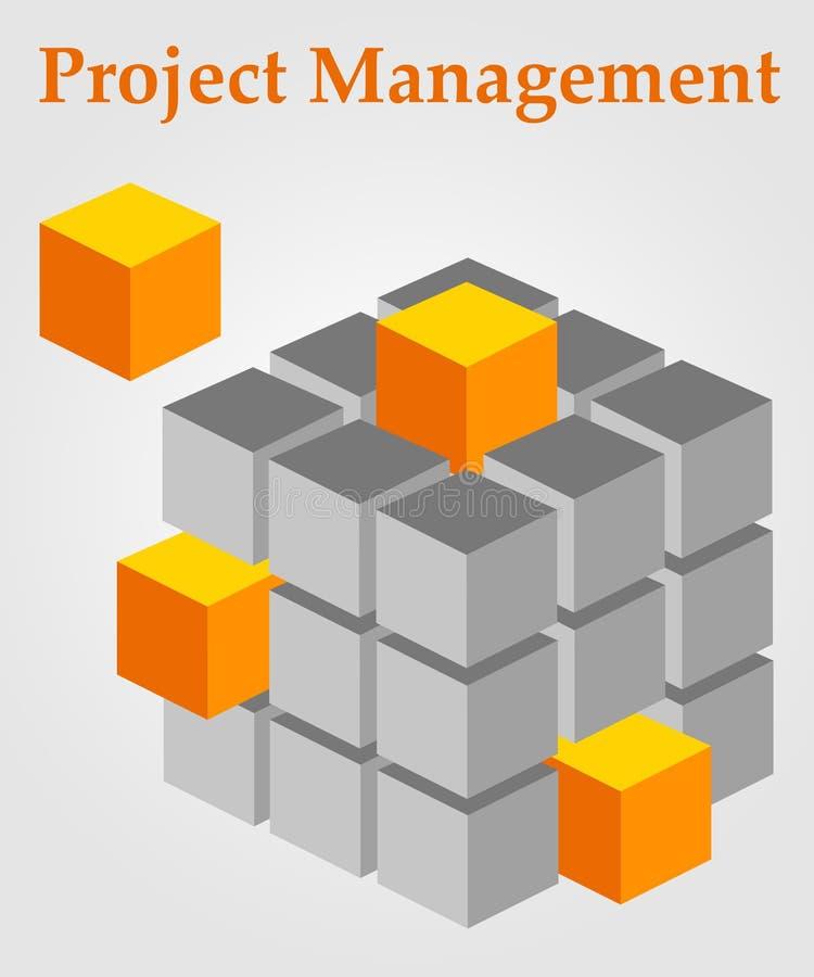 Projecten royalty-vrije illustratie