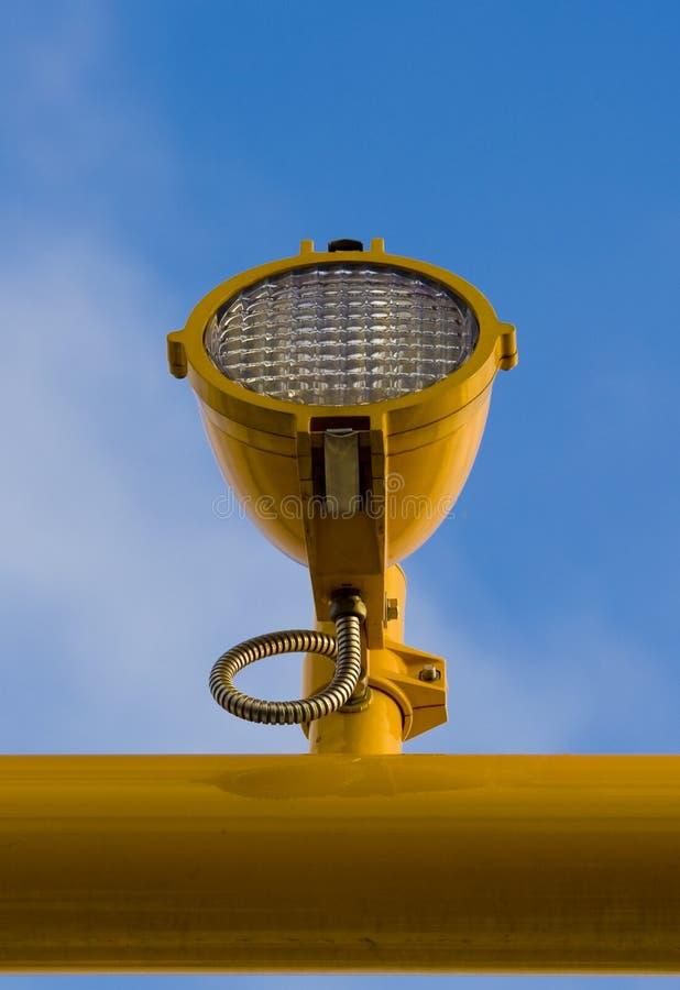 Projecteur d'atterrissage images stock