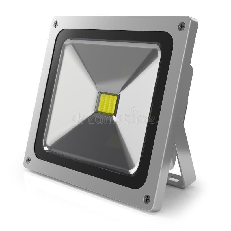 Projecteur 3d de LED illustration libre de droits