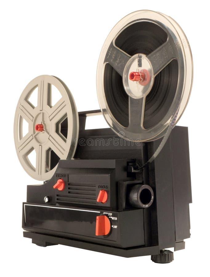 Projecteur de film 8 superbe images libres de droits