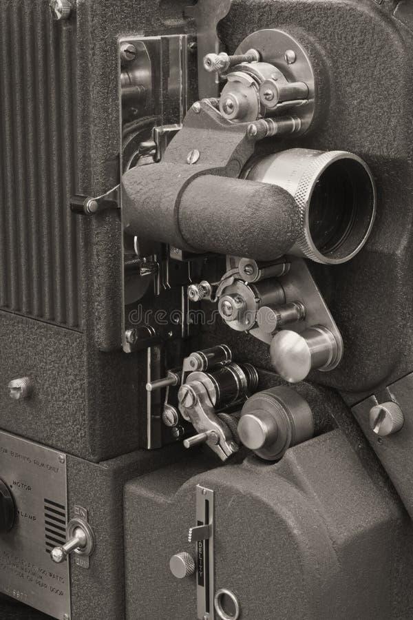 Projecteur de film antique 1 images libres de droits