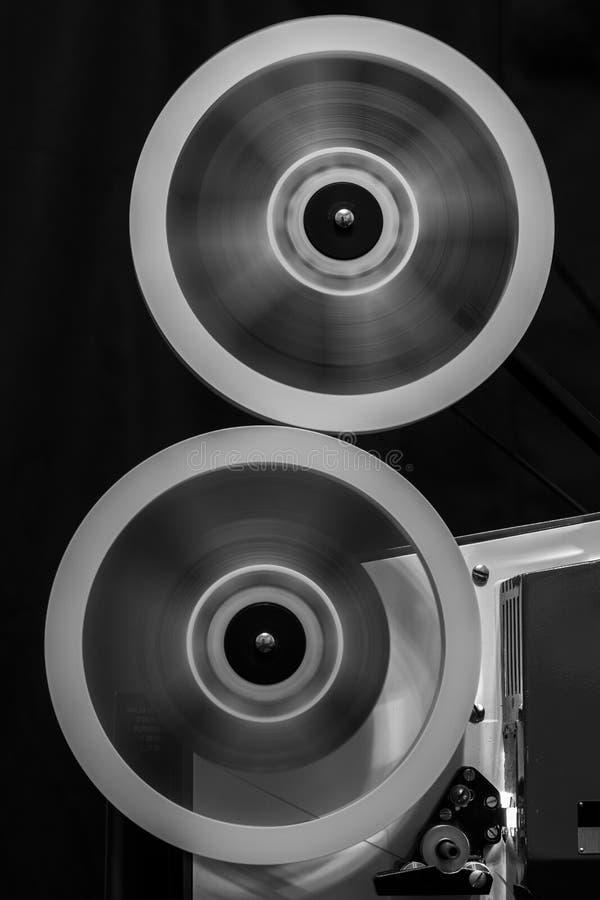 Projecteur de film de cru image libre de droits