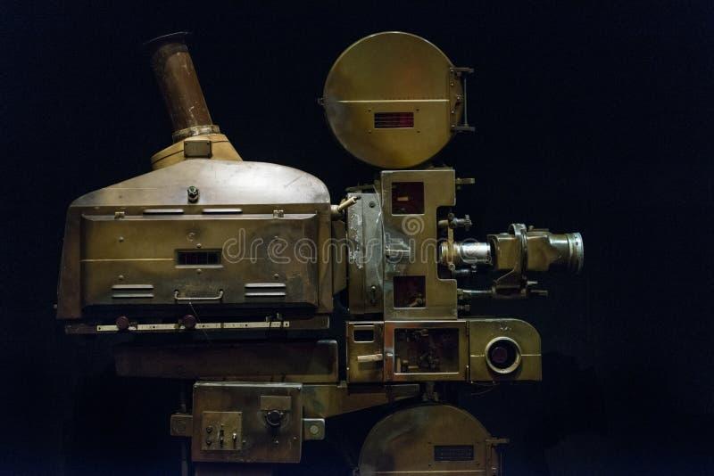 Projecteur de film de théâtre images libres de droits