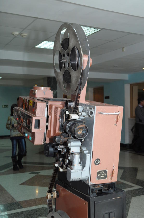 Projecteur de film de vintage images stock