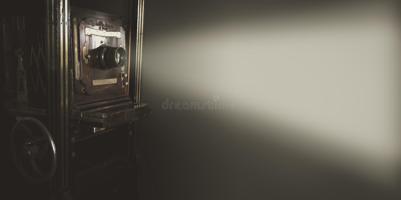 Projecteur de film de vintage photographie stock libre de droits